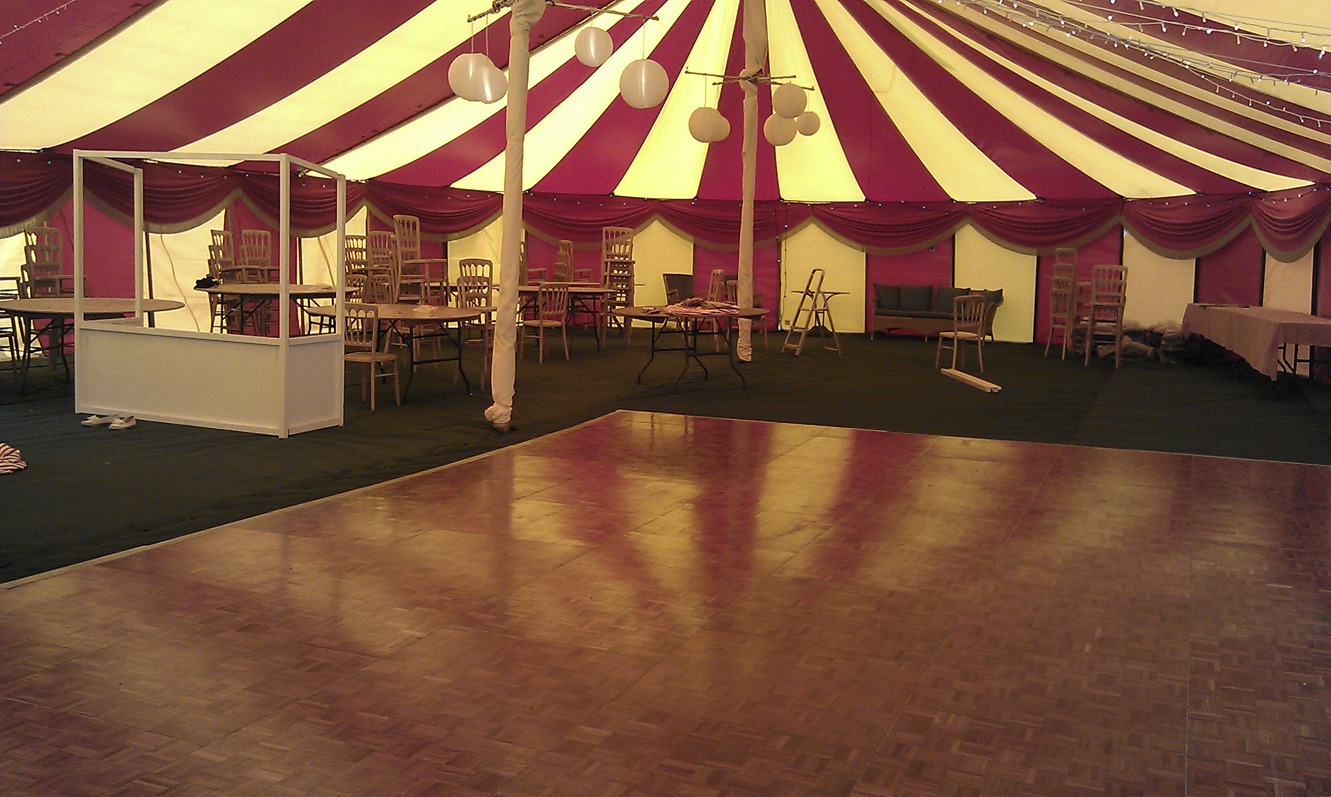 unusual luxury marquee hire devon