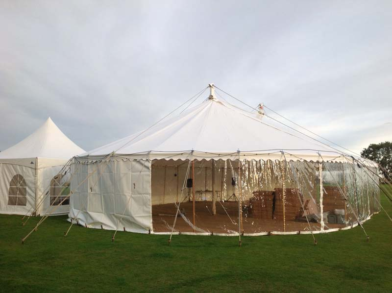 wedding tent devon